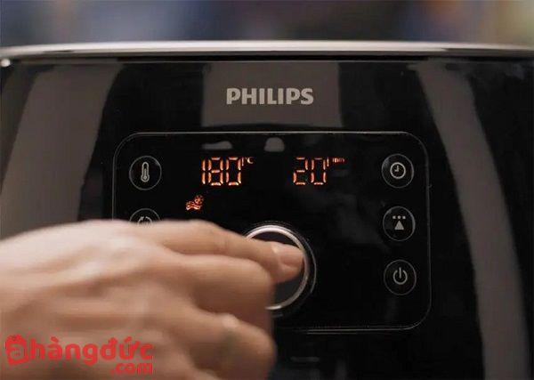 Màn hình cảm ứng của Philips HD9653/90 thông minh siêu nhạy